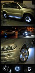 Продажа готовых комплектов подсветки дисков авто