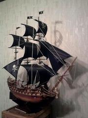 Продаю экслюзивный и очень красивый корабль ручной работы