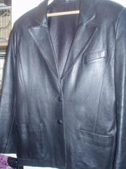 Продам пиджак кожан